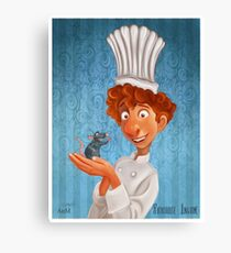Alfredo Linguini- Ratatouille. Canvas Print