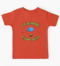 Claymore, camp less. Kids Tee