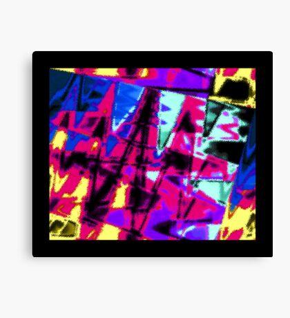 Big, Splashy Abstract Canvas Print