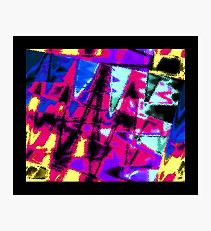 Big, Splashy Abstract Photographic Print