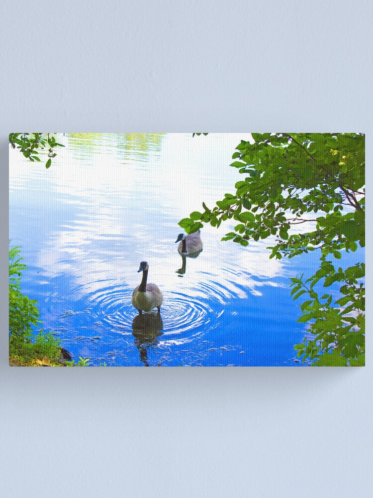 Alternate view of Geese Canvas Print