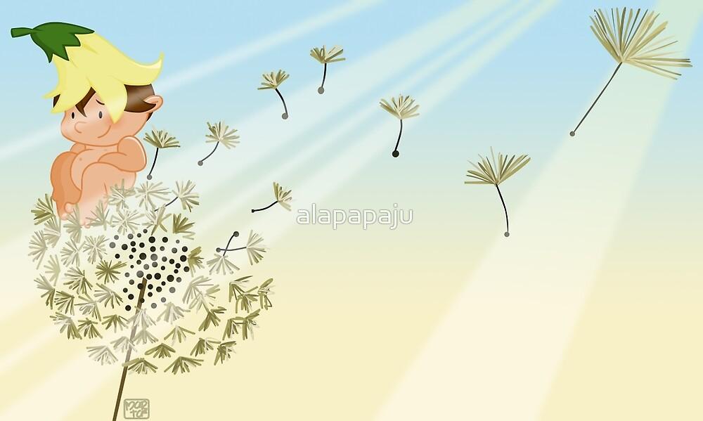 Resting on a dandelion by alapapaju