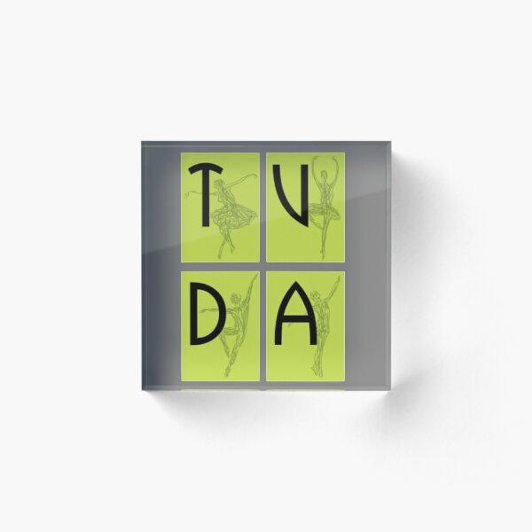 TVDA Logo Acrylic Block