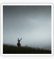 Scottish Deer Sticker