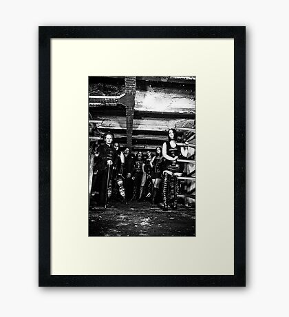 The Clan Framed Print
