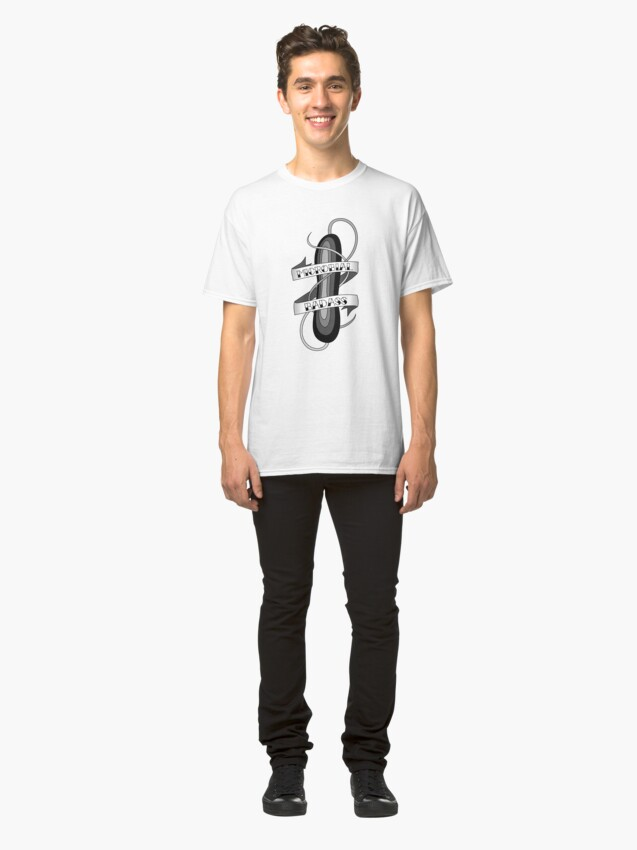 Alternate view of Microbial Badass Tattoo - black and white Classic T-Shirt