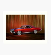 1967 Pontiac LeMans Art Print