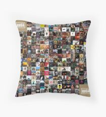 Greatest Hip Hop Albums 1986 - 2018 Throw Pillow