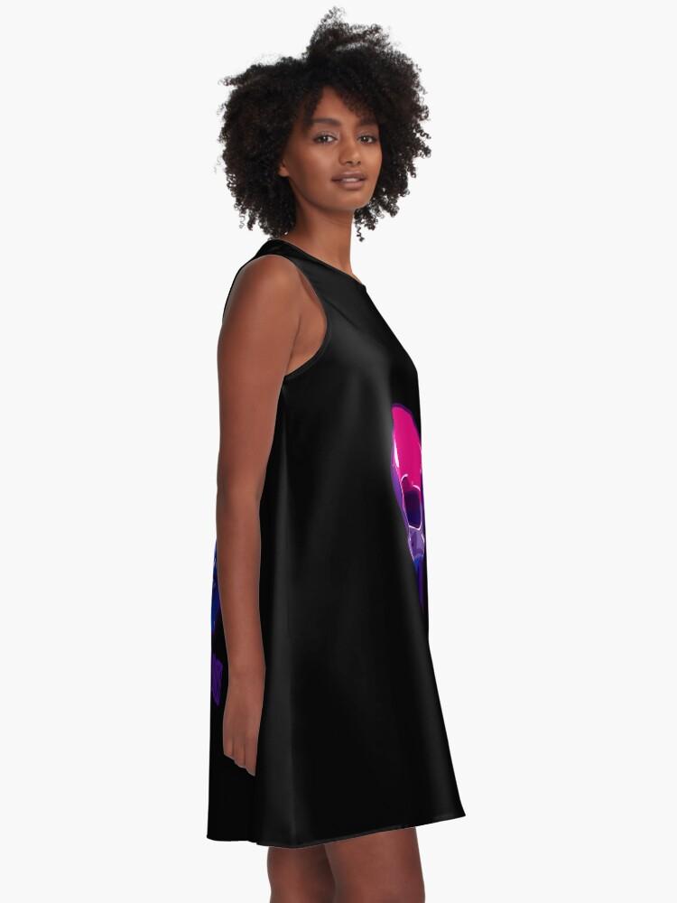 Alternate view of Bisexual Pride: It's In My Bones A-Line Dress