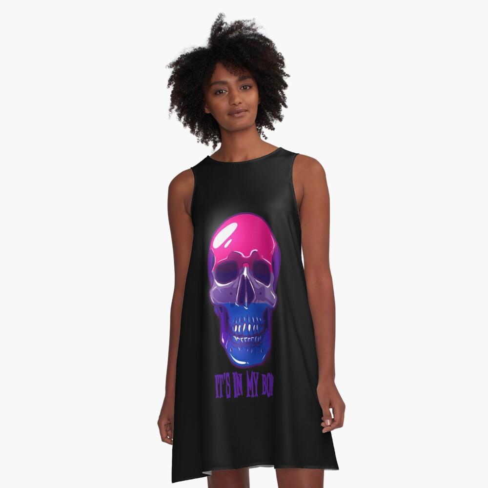 Bisexual Pride: It's In My Bones A-Line Dress