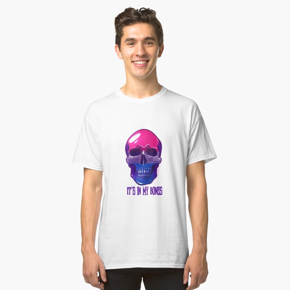 Bisexual Pride: It's In My Bones Classic T-Shirt