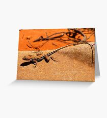 Mallee Millitary Dragon Greeting Card