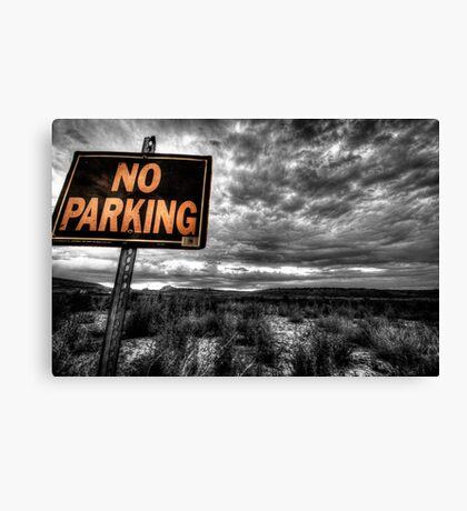 Good Parking Spot Canvas Print