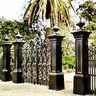 Williamstown Botanical Gardens Entrance by EdsMum