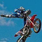 Freestyle MX Stunt Rider by Brian Tarr