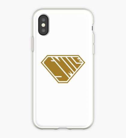 Smile SuperEmpowered (Gold) iPhone Case