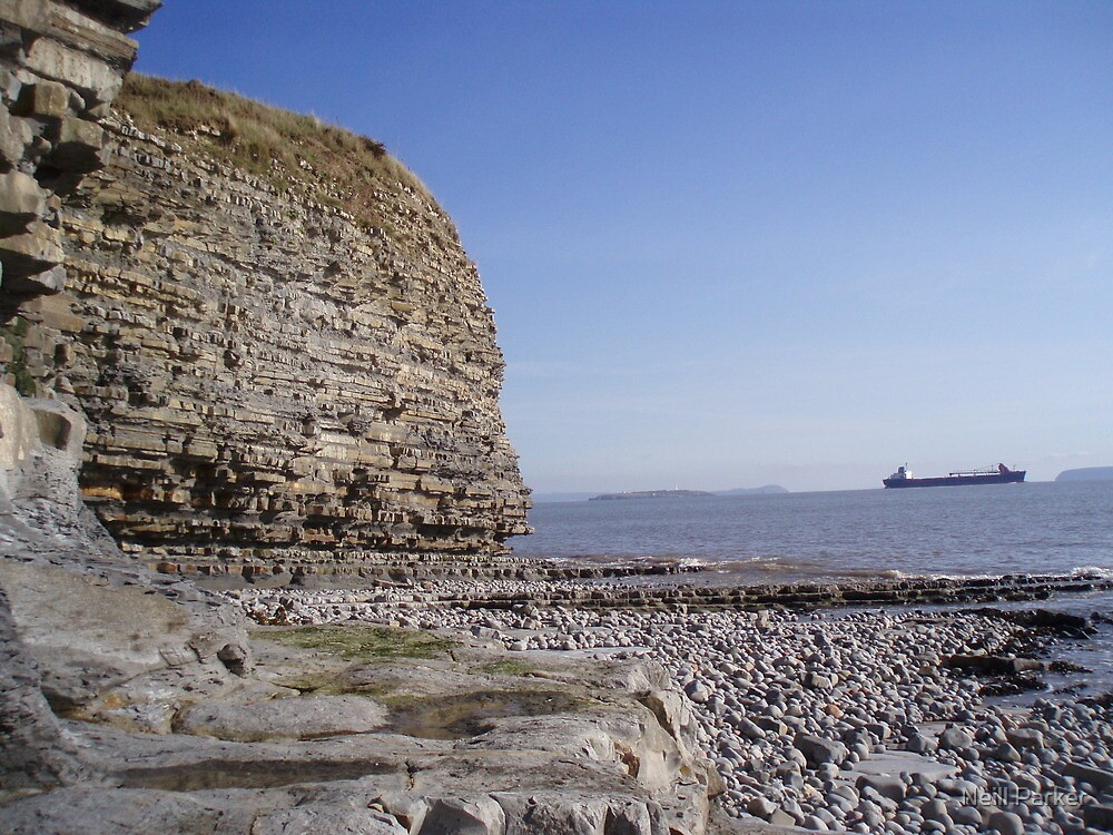 Lavernock Point by Neill Parker