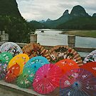Yangshuo Paper parasols by fionapine