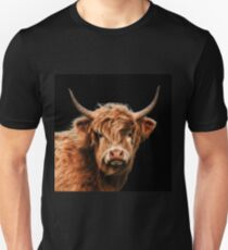 Highland Cow In Colour Unisex T-Shirt