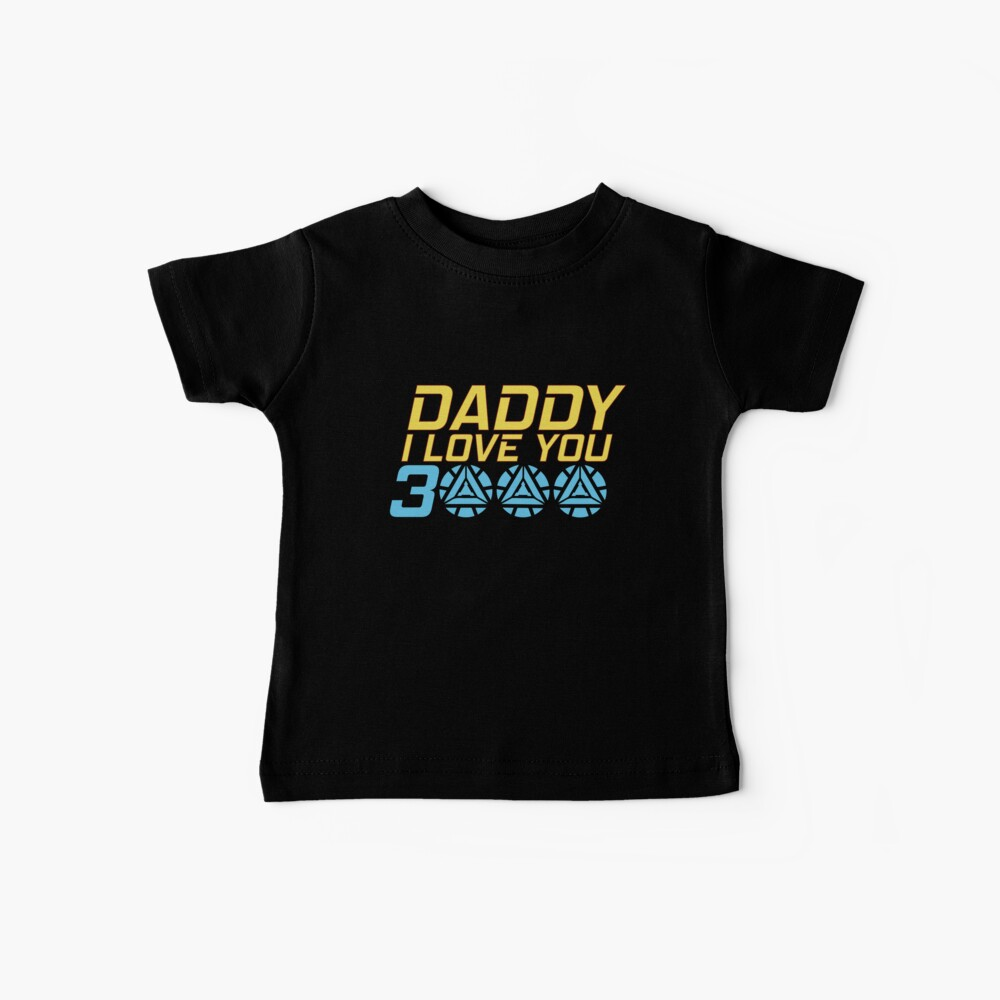 Papi te amo 3000 Camiseta para bebés