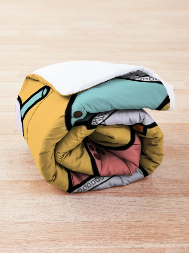 Alternate view of Bubble Tea Pattern Comforter