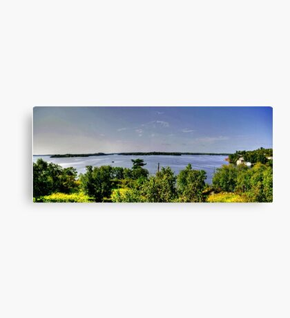Lake of the Woods (Panorama) Canvas Print