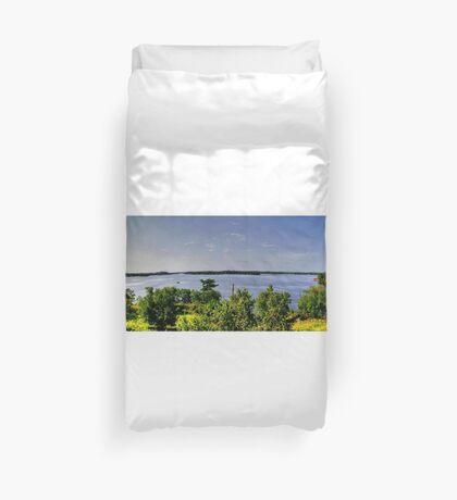 Lake of the Woods (Panorama) Duvet Cover