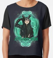 Nocturnal Virus Villain Froppy Cosplay Chiffon Top