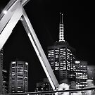 Melbourne night life by Lydia Griffiths