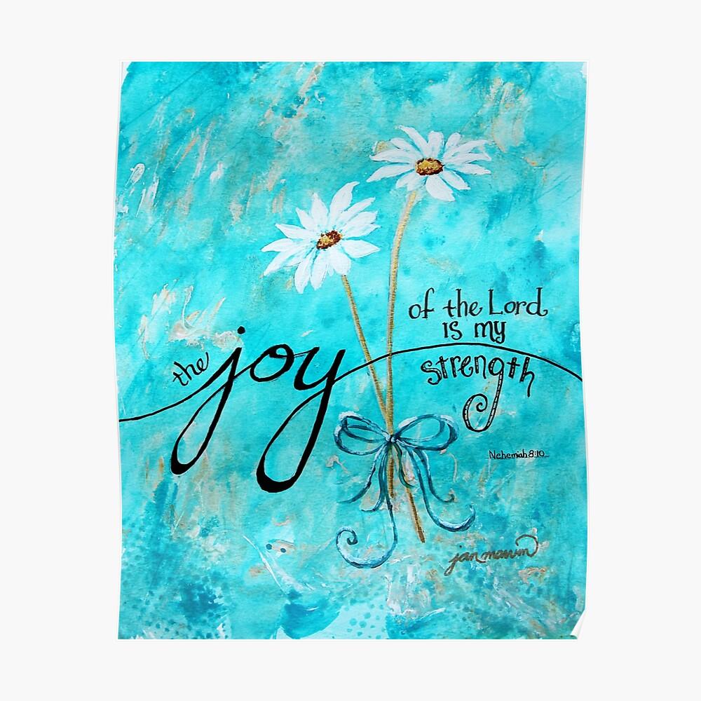 Die Freude des Herrn ist meine Stärke von Jan Marvin Poster