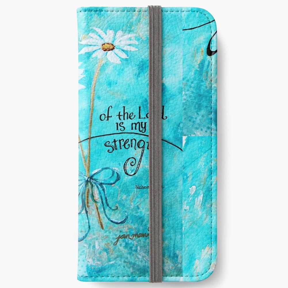 Die Freude des Herrn ist meine Stärke von Jan Marvin iPhone Flip-Case