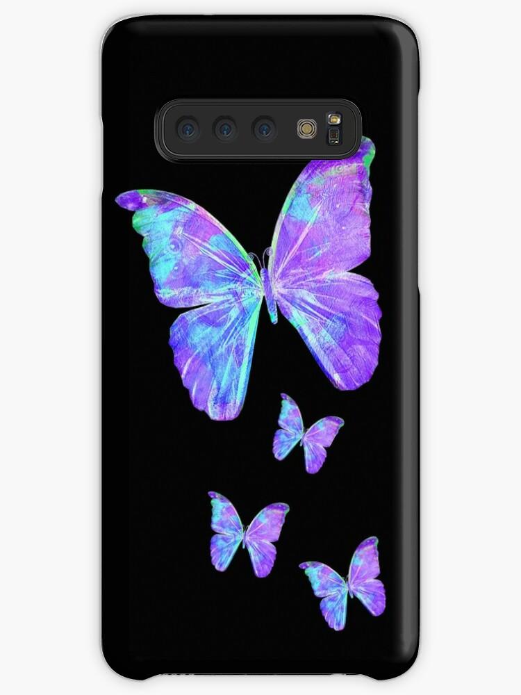 Lila Schmetterlinge von Jan Marvin von Jan Marvin