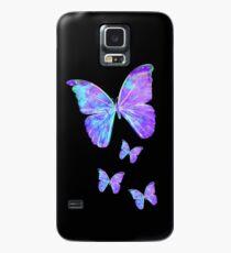 Lila Schmetterlinge von Jan Marvin Hülle & Klebefolie für Samsung Galaxy