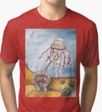 Undersea Tri-blend T-Shirt