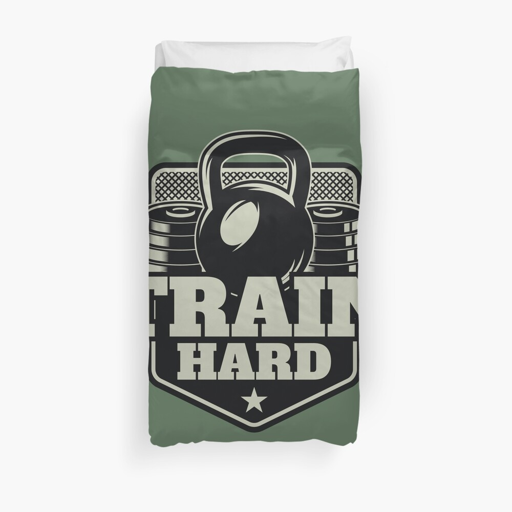 Train Hard Bettbezug