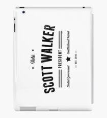 Vote Scott Walker iPad Case/Skin