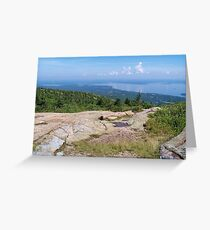 Cadillac Mountain Greeting Card