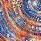 DeepDream abstraction close-up by blackhalt