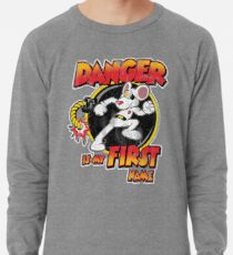 Danger is my First Name Lightweight Sweatshirt