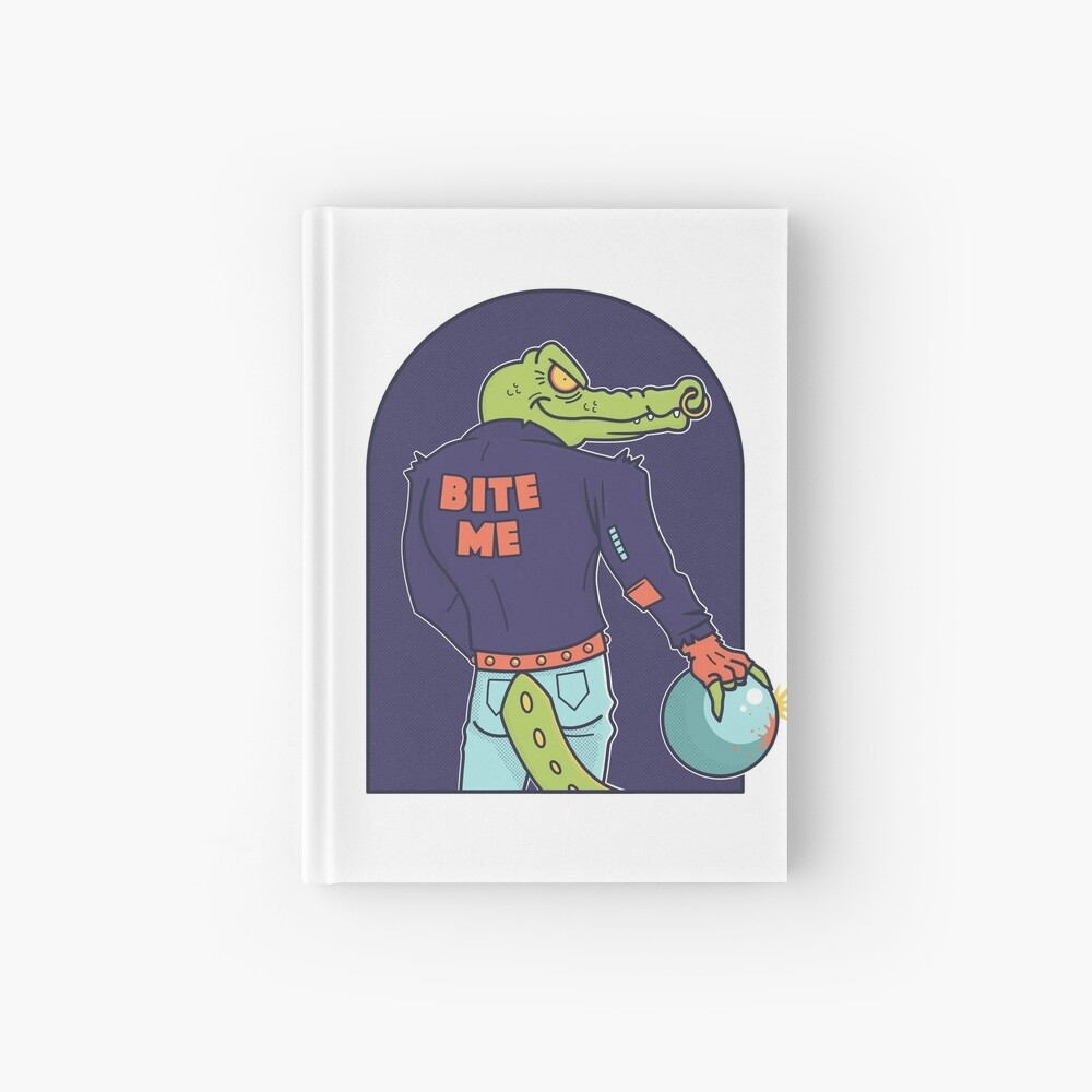 Alley Gator Hardcover Journal