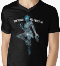 Mass Effect Silhouettes, Liara - Burn Thessia? Make a Mess o' Ya! T-Shirt