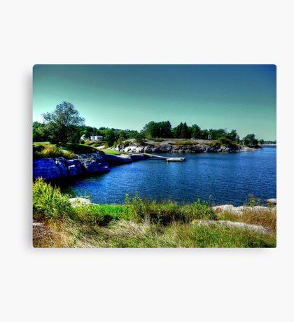 Beautiful Bay Canvas Print