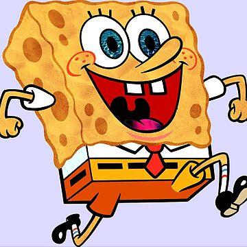 Spongebob Reflects his Environment  by LemonButtGrab