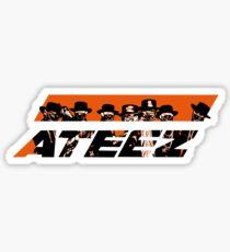 ATEEZ - OrangeLogo Sticker