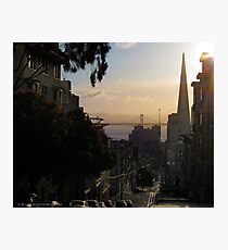 San Francisco Morning Calm Photographic Print