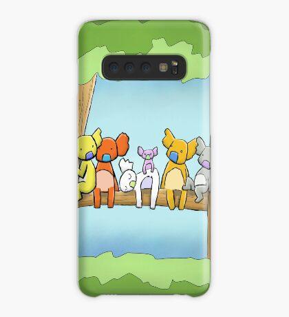 Multi coloured cute koala in a tree Case/Skin for Samsung Galaxy