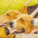 Limerick Foxhounds by Pauline Sharp