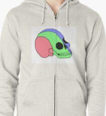 Tri-Colored Skull T-Shirt