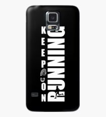 Keep on running Footstep Case/Skin for Samsung Galaxy