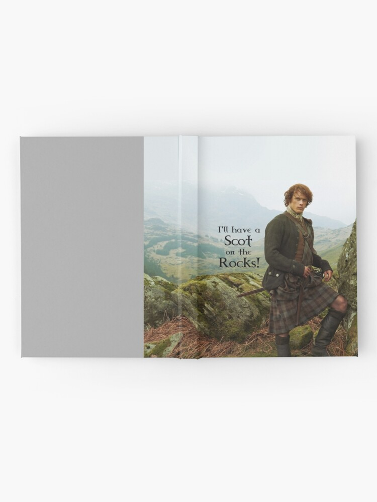 Alternate view of I'll have a Scot on the Rocks!  Hardcover Journal